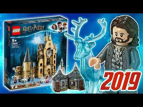 LEGO Гарри Поттер 2019 Хижина Хагрида, Часовая Башня Хогвартса и Экспекто Патронум!