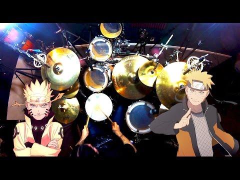 Kin   Naruto Opening 2   Haruka Kanata   Asian Kung-Fu Generation   Drum Cover (Studio Quality)