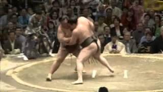 白鵬vs稀勢の里 14日目全勝対決 2013/5/25