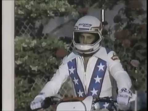 ROBBIE KNIEVEL caesars palace jump higher quality upload