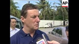 Aus Police Commissioner visits victim indentification centre