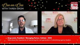 Greg Lewis, Calcium – 2020 PharmaVOICE 100 Celebration