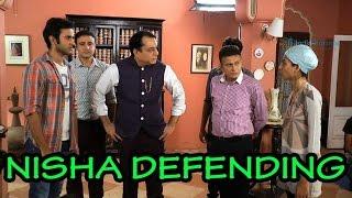 Nisha speak up for Kabir