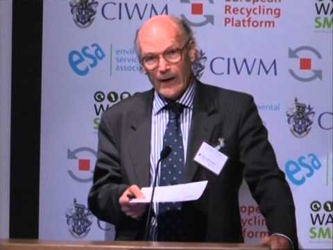 CIWM Conference 2013 -- Professor Paul Ekins