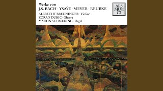 Violin Sonata No. 1 in G Minor, BWV 1001 (arr. Z. Dukic) : II. Fugue