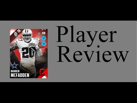 Campus Legend Darren Mcfadden | Mini-Review | Madden 16 Ultimate Team Gameplay