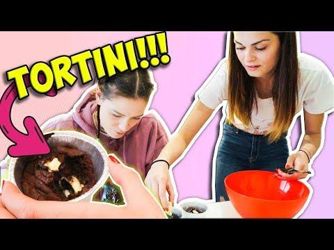 Preparo i TORTINI AL CIOCCOLATO CON SABRI!!!
