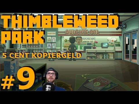 Landkarte und 5 Cent Kopiergeld - Thimbleweed Park #09