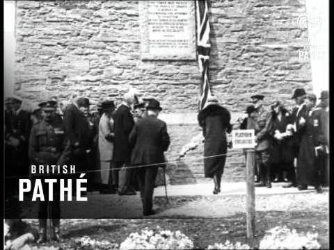 The Kitchener Memorial & Cuts (1926)