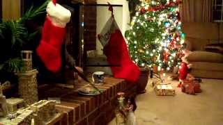 Santa gets caught on tape in Ann Arbor!