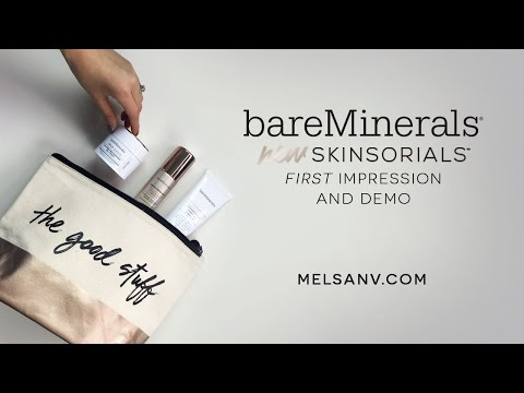 Bare Minerals Skinsorials First Impression + Demo