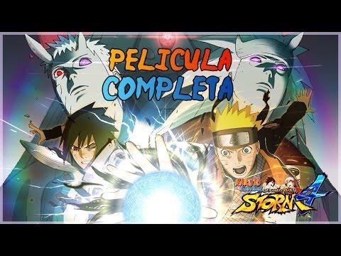 Naruto Shippuden Ultimate Ninja Storm 4 - Película Completa en Español (Full Movie)