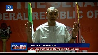 Senator Bruce Insists On Phasing Out Fuel Powered Cars |Politics Today|