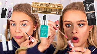 Download MORE NEW MAKEUP!! FULL FACE FIRST IMPRESSIONS + WEAR TEST Mp3 and Videos