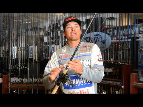 Pro Angler Chris Zaldain Showcases teh Latest Megabass Rods