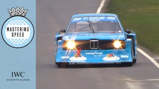 Screaming Group 5 BMW 320 thrashed at Goodwood