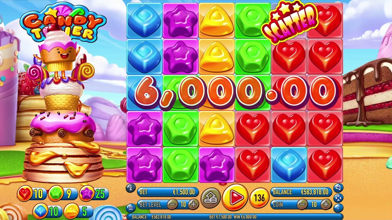 Candy Tower Slot Play Free ▷ RTP 96.7% & High Volatility video preview