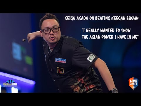 "Seigo Asada on beating Keegan Brown: ""I really wanted to show the Asian power I have in me"""