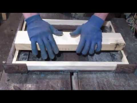 Как сделать рамку Дадан - рамочный шаблон