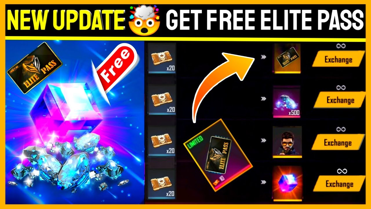 Free Fire Guild Token Event Full Details || New Event Get Free Elite Pass And Bundle In Free 2020