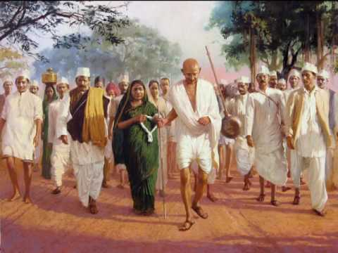 """role of gandhi in indian independence essay While in jail, gandhi read the essay """"civil disobedience"""" by henry david   gandhi expected britain to grant india independence after world war i when it  did."""