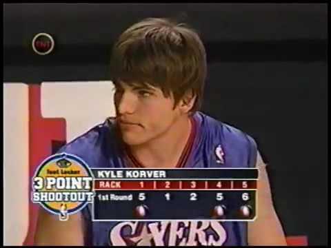 Allen Iverson Cheers for Kyle Korver -  2004 NBA 3 Point Shootout