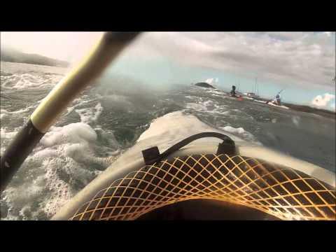 Mayotte kayak-polo au déversoir CKCPT