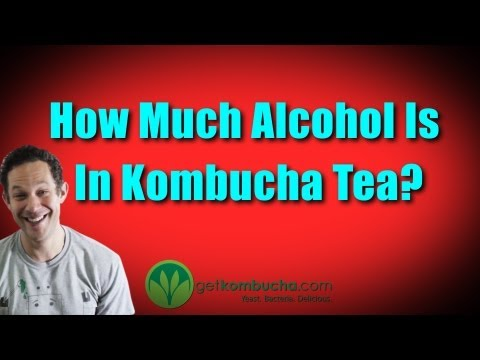 Kombucha Alcohol Content Or How Much Alcohol Is In Kombucha Tea?