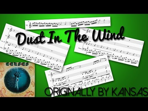 Dust in the Wind - Kansas [Sheet Music for Violins, String Bass and Piano]