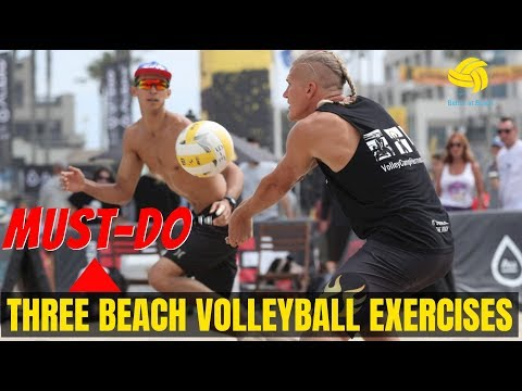 3 Must-Do Exercises for Beach Volleyball