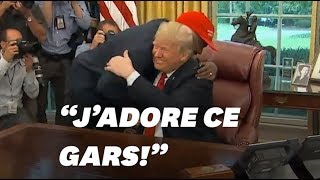 L'embrassade de Donald Trump et Kanye West