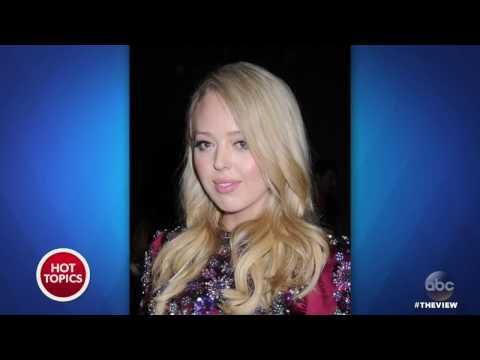 Tiffany Trump Bullied At Fashion Week? | The View