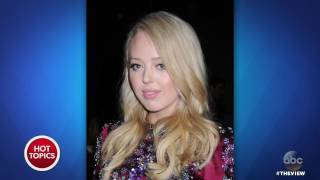 Tiffany Trump Bullied At Fashion Week? | The View
