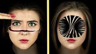 Download 8 оптических иллюзий, которые можно сделать в макияже Mp3 and Videos