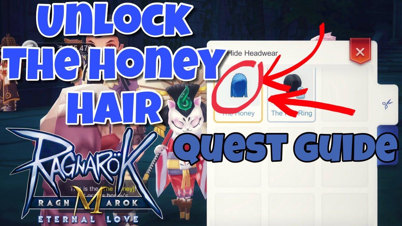 the honey hair model unlocked ! a little guide - ragnarok m eternal