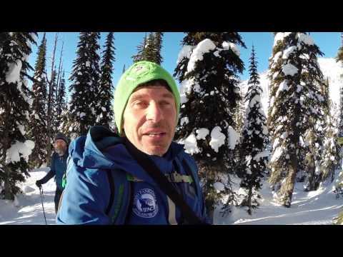 Backcountry Ski to Smith Peak in the Idaho Selkirk Mountains (2 February 2017)