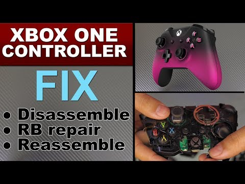 FIX Xbox 360 Xbox One Controller ( LB / RB ) Bumper Button repair