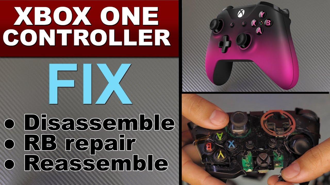 FIX Xbox 360 Xbox One Controller ( LB / RB ) Bumper Button repair