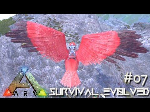 ARK: Survival Evolved - Perfect 120 Kibble Tame Arge & Raptor !!! [Ep 07] (Server Gameplay)