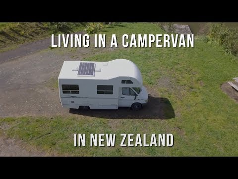 Living in a Campervan // New Zealand