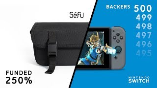 Séfu Switch Bag  --  Designer Carry Solution for the Nintendo Switch
