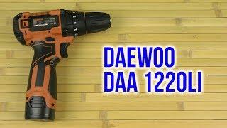 Розпакування Daewoo DAA 1220Li