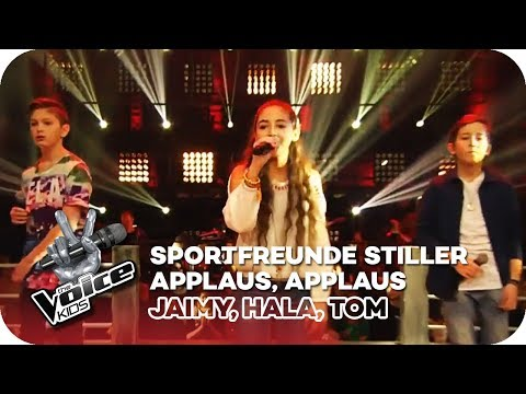 Sportfreunde Stiller - Applaus, Applaus (Jaimy, Hala, Tom) | Battles | The Voice Kids 2016