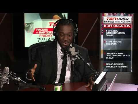 WWE Superstar Kofi Kingston visits on Mike Richards in the Morning
