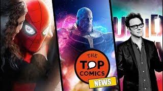 Nuevo traje Spider-Man l Avengers 4 l James Gunn en Suicide Squad