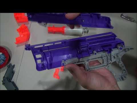 Newest Nerf Mega Fortnite Pistol Internals HC-E