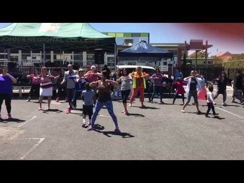 Filipino Zumba @ St. Anthony's Carnival 2016