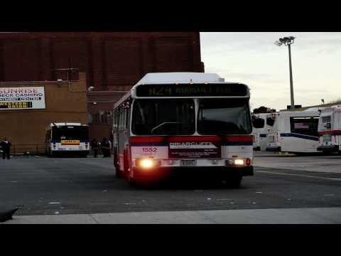 MTA Long Island Bus 2001 Orion V CNG 1613 [ Audio Recording ]