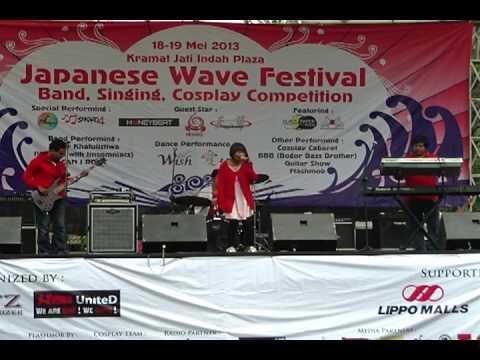 Akairo - Sakura (Ikimonogakari cover) @ Japanese Wave Festival