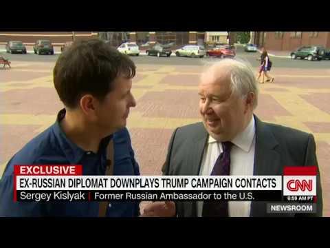 Ex-Russian Ambassador Kislyak downplays Trump relationship